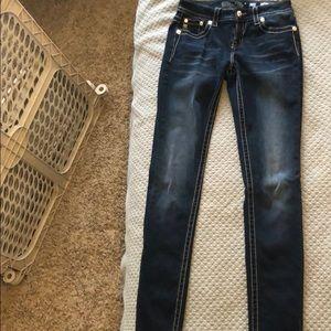 Miss me jeans with embellished back pockets